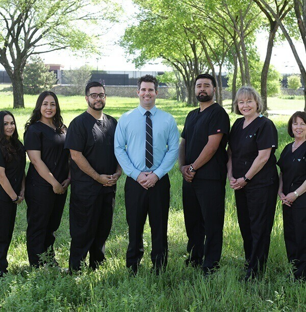 The Colleyville dental office team